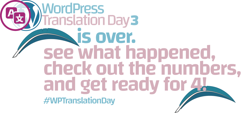 Global WordPress Translation Day 3