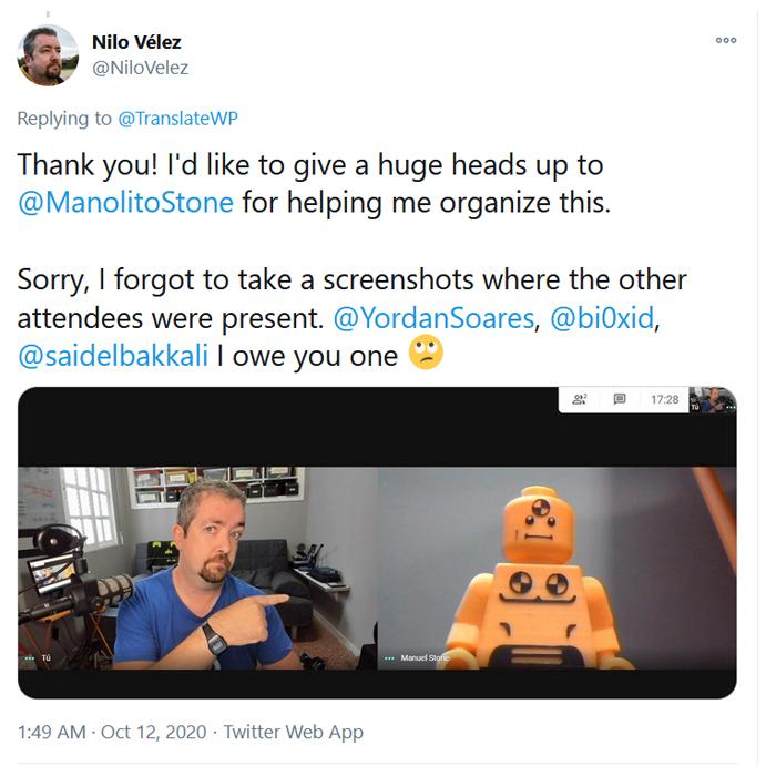 Nilo Vélez Tweets