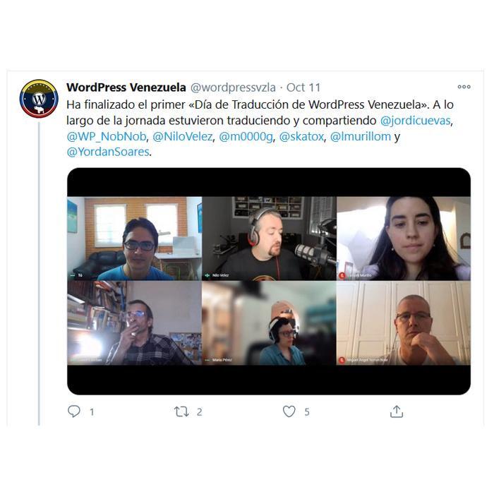 Venezuelan Tweet